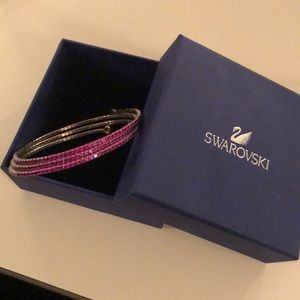 Swarovski Pink Crystal Bracelet